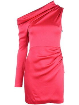 Cushnie - Pink Asymmetric Mini Dress - Women