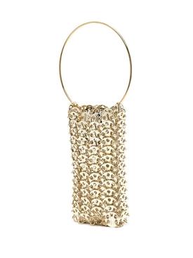 Chain-link detail mini bag