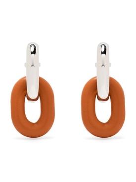 Cognac XL Link Earrings