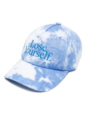 x Peter Saville Lose Yourself Cap Blue