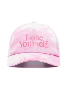 x Peter Saville Lose Yourself Cap Rose