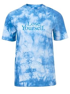 X Peter Saville Blue Tie-Dye T-Shirt
