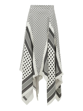 Boom Asymmetric Skirt