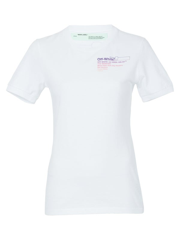 60d14cf8 Off-white - The Webster X Off-white Exclusive Gradient Slim Tee - Women