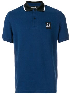Fred Perry X Raf Simons - Short Sleeve Polo Shirt Navy - Men