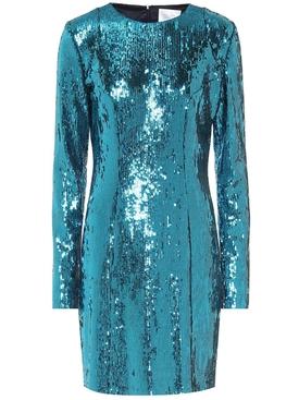 Oceana Sequin Evening Dress