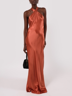Rust Eve Gown