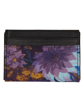 Multicolored Floral Card Holder