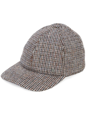 Tiger tweed cap BROWN