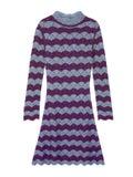 Alexachung - A-line Dress Purple/blue - Women