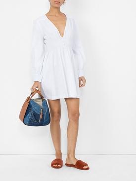smock dress WHITE