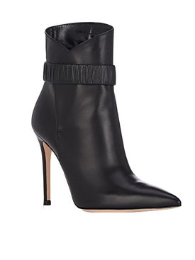 Gianvito Rossi - Leather Ankle Bootie - Women