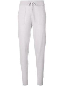 Alexandra Golovanoff - Grey Patton Track Pants - Women