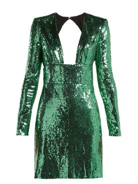 Dundas - Sequin Mini Dress - Women