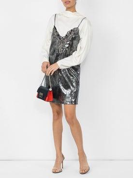 Dundas - Metallic Sequin Mini Dress - Women