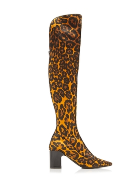 Fabrizio Viti - Leopard Over-the-knee Boots - Women