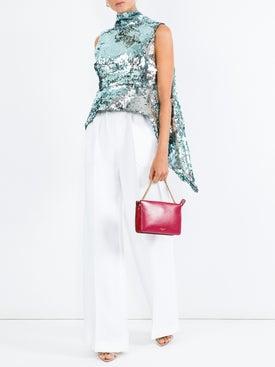 Halpern - Embellished Open Back Top - Women