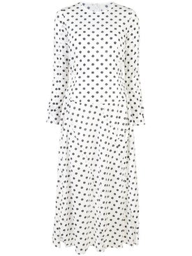 Julien David - Longsleeved Spot Print Dress - Women