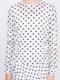 Julien David - Longsleeved Spot Print Dress - Women