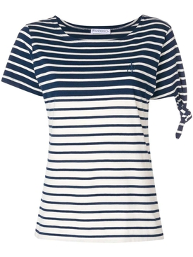 Stripe knot t-shirt