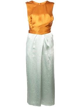 Sies Marjan - Sarina Satin Wrap Dress - Women