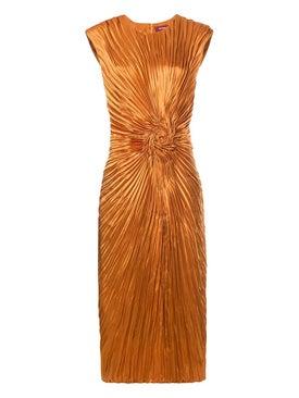 Sies Marjan - Nicole Satin Rosette Dress - Women