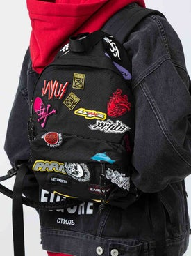 Vetements - Mini Embroidered Backpack - Women