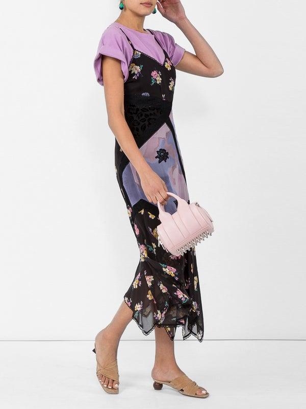 7c9764c6b4 mixed print slip dress