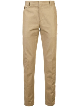 side stripe pants KHAKI