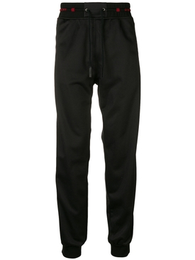 elasticated waist trousers BLACK/BLACK