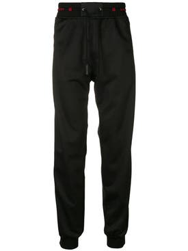 Givenchy - Elasticated Waist Trousers Black/black - Men