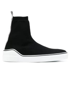 Givenchy - George V High Sneakers Black - Men