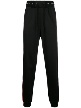 elasticated waist trousers BLACK/ORANGE