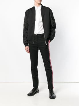 Givenchy - Side Stripe Pants Black - Men