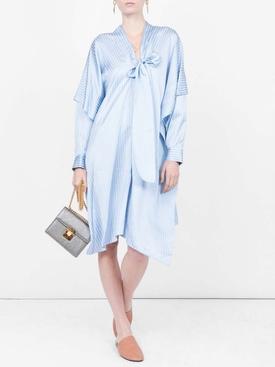 Woven Etamine Dress BLUE