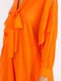 Maison Rabih Kayrouz - Woven Etamine Dress Orange - Women