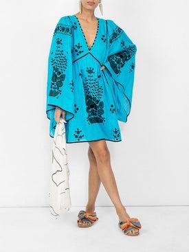 Vita Kin - Peacock Linen Mini Dress - Women