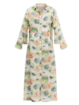 forest shirtdress MULTICOLOR