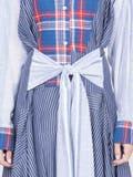 Loewe - Patchwork Dress Blue - Women