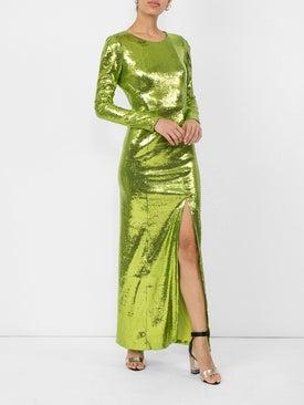 Galvan - Adela Sequin Maxi Dress - Women