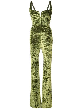 Galvan - Solstice Jumpsuit Avocado - Women