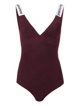 Paco Rabanne - Logo Strap Bodysuit - Women