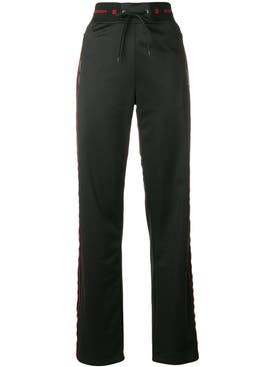 Givenchy - Velvet Side Stripe Joggers - Women