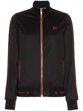 Givenchy - Logo Embroidered Track Jacket - Women
