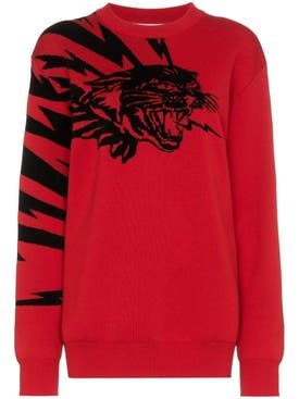 Givenchy - Flying Cat Jacquard Jumper - Women