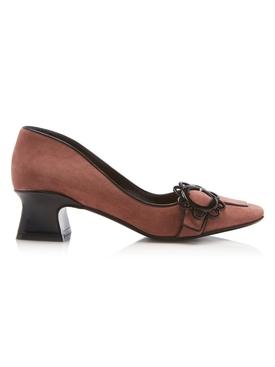 Daisy buckle loafer