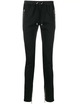 tuxedo track pants BLACK WHITE STRIPE