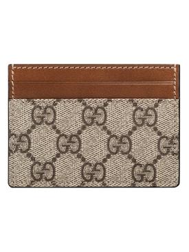 Brown GG supreme card case
