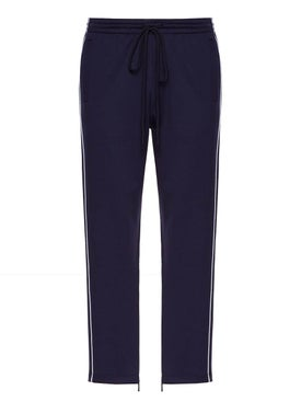 Valentino - Drawstring Trousers Blue - Pants