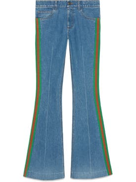 Gucci - Stretch Denim Flare Pant - Women